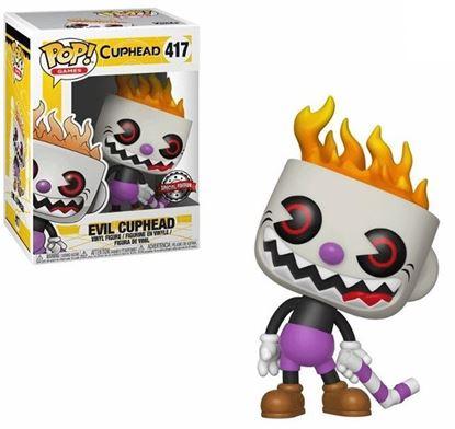 Picture of Cuphead Figura POP! Games Vinyl Evil Cuphead Special Edition 9 cm