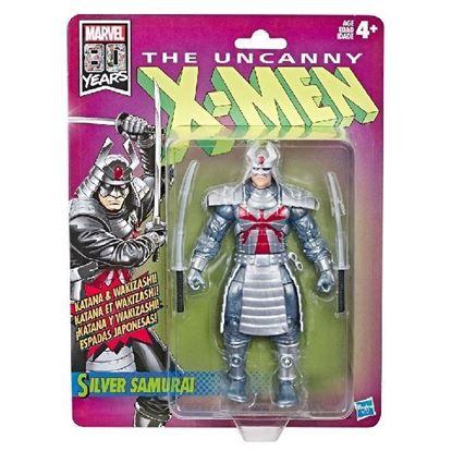 Picture of Marvel Legends Retro Figura Silver Samurai 15 cm