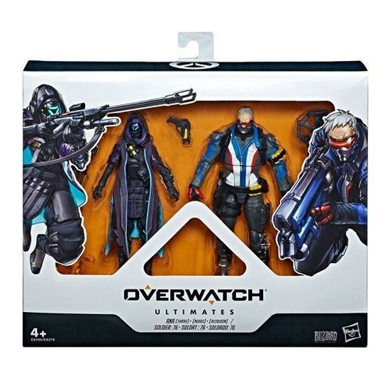 Picture of Overwatch Ultimates Figuras Dual Pack Shrike Ana y Soldier 76 15 cm