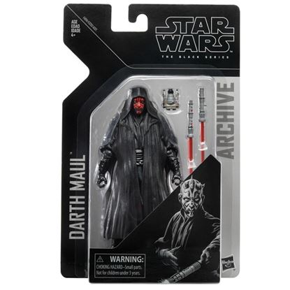 Picture of Star Wars Black Series Archive Figura 15 cm Wave 2 Darth Maul ARCHIVES