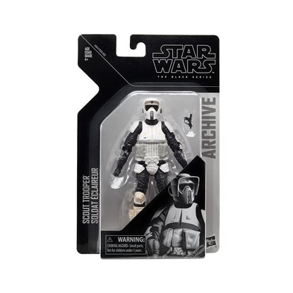 Picture of Star Wars Black Series Archive Figura 15 cm Wave 2 Biker Scout ARCHIVES