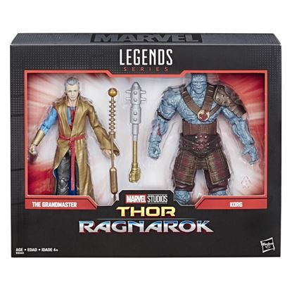 Picture of Marvel Legends Pack de 2 Figuras Grandmaster & Korg 80 Aniversario 15 cm