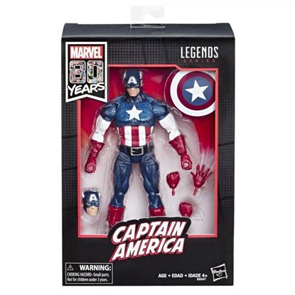 Picture of Marvel Legends Figura Captain America Ver. Alex Ross 80 Aniversario 15 cm