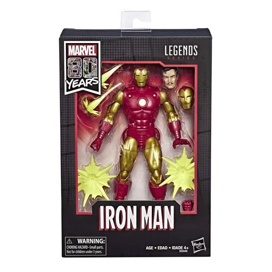 Picture of Marvel Legends Figura Iron Man Ver. Alex Ross 80 Aniversario 15 cm