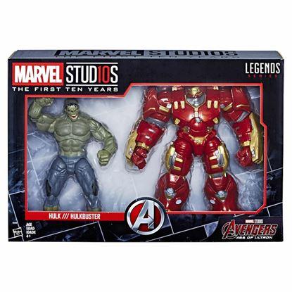 Picture of Marvel Legends Pack de 2 Figuras Hulk & Hulkbuster 15 cm