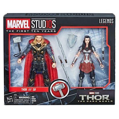 Picture of Marvel Legends Pack de 2 Figuras Thor & Sif 15 cm