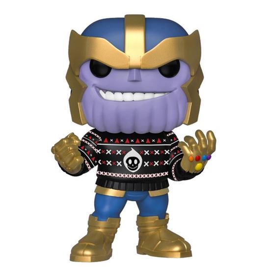 Picture of Marvel Holiday Figura POP! Marvel Vinyl Thanos 9 cm DISPONIBLE APROX: DICIEMBRE 2019