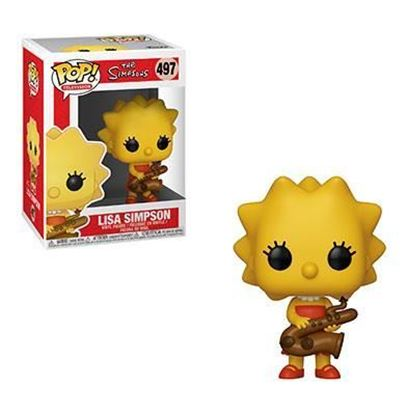 Picture of Los Simpson Figura POP! TV Vinyl Lisa 9 cm