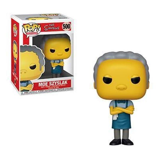 Picture of Los Simpson Figura POP! TV Vinyl Moe 9 cm