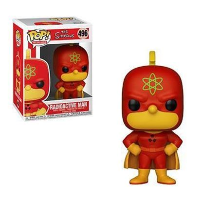 Picture of Los Simpson Figura POP! TV Vinyl Radioactive Man 9 cm