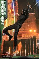 Picture of Spider-Man: Far from Home Figura Movie Masterpiece 1/6 Spider-Man (Stealth Suit) 29 cm