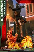 Picture of Spider-Man: Far from Home Figura Movie Masterpiece 1/6 Spider-Man (Stealth Suit) Deluxe Version 29 cm