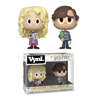 Picture of Harry Potter Pack de 2 VYNL Vinyl Figuras Luna & Neville 10 cm