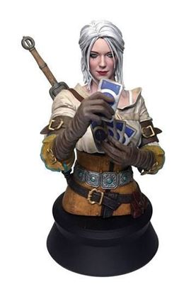 Picture of Witcher 3 Wild Hunt Busto Ciri Playing Gwent 20 cm