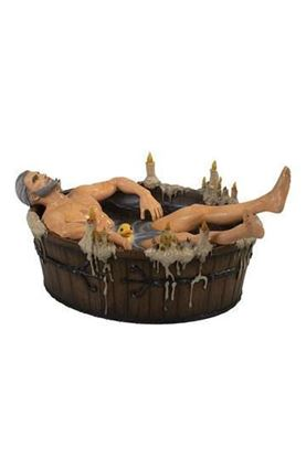 Picture of The Witcher 3 Wild Hunt Estatua Geralt in the Bath 9 cm