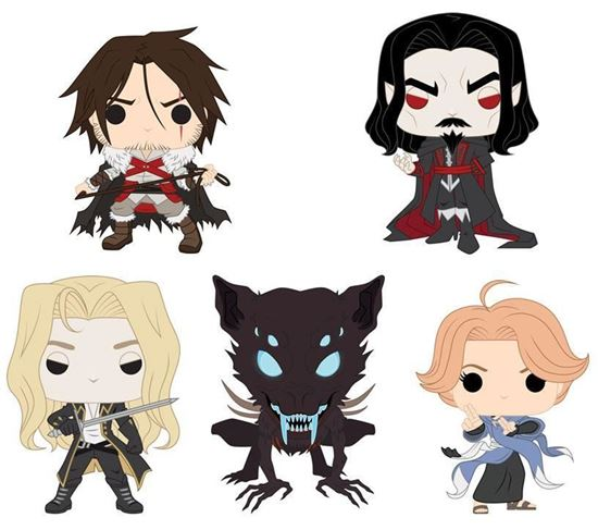 Picture of PACK FUNKO POP CASTELVANIA