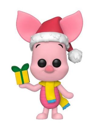 Picture of Disney Holiday POP! Disney Vinyl Figura Piglet 9 cm DISPONIBLE APROX: DICIEMBRE 2019