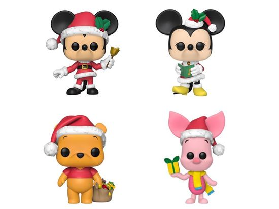 Picture of Pack 4 figuras Disney Holiday POP!  DISPONIBLE APROX: DICIEMBRE 2019