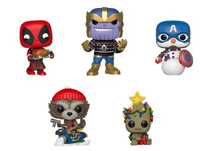 Picture of Pack 5 figuras Marvel Holiday Figura POP! DISPONIBLE APROX: DICIEMBRE 2019