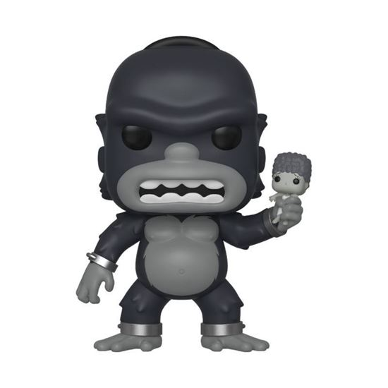 Picture of Los Simpson Figura POP! TV Vinyl King Kong Homer 9 cm