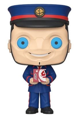 Picture of Doctor Who Figura POP! TV Vinyl The Kerblam Man (GW) 9 cm. DISPONIBLE APROX: ENERO 2020