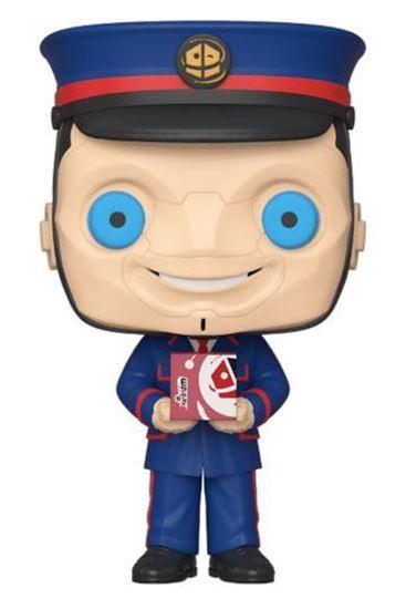 Picture of Doctor Who Figura POP! TV Vinyl The Kerblam Man (GW) 9 cm. DISPONIBLE APROX: ENERO 2020