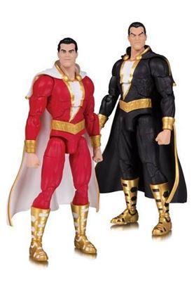 Picture of DC Essentials Pack de 2 Figuras Shazam! & Black Adam 18 cm