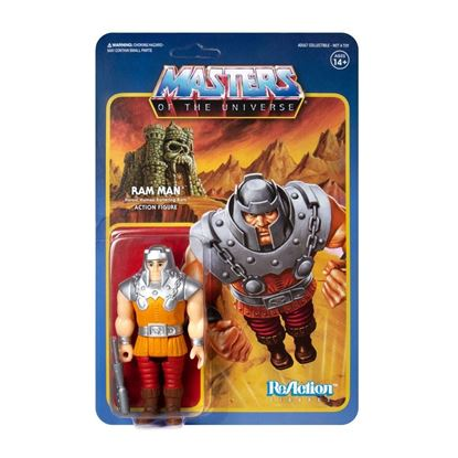 Picture of Masters of the Universe Figura ReAction Ram Man (Mini Comic) 10 cm