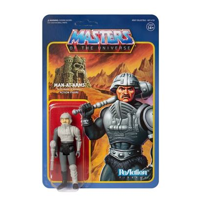 Picture of Masters of the Universe Figura ReAction Man-At-Arms (Movie Accurate) 10 cm