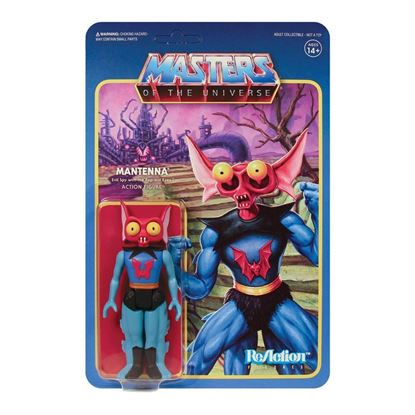 Picture of Masters of the Universe Figura ReAction Wave 5 Mantenna 10 cm