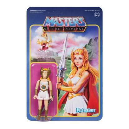 Picture of Masters of the Universe Figura ReAction Wave 5 She-Ra 10 cm