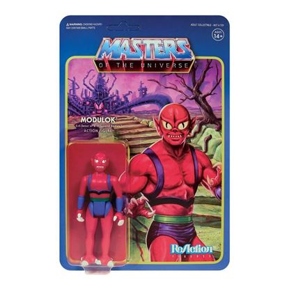 Picture of Masters of the Universe Figura ReAction Wave 5 Modulok B 10 cm
