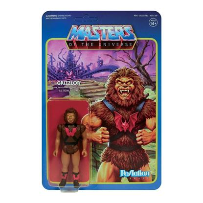 Picture of Masters of the Universe Figura ReAction Wave 5 Grizzlor 10 cm