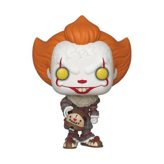 Picture of Stephen King's It 2 POP! Movies Vinyl Figura Pennywise (Beaver Hat) 9 cm.