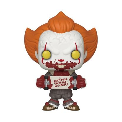 Picture of Stephen King's It 2 POP! Movies Vinyl Figura Pennywise Skateboard 9 cm.