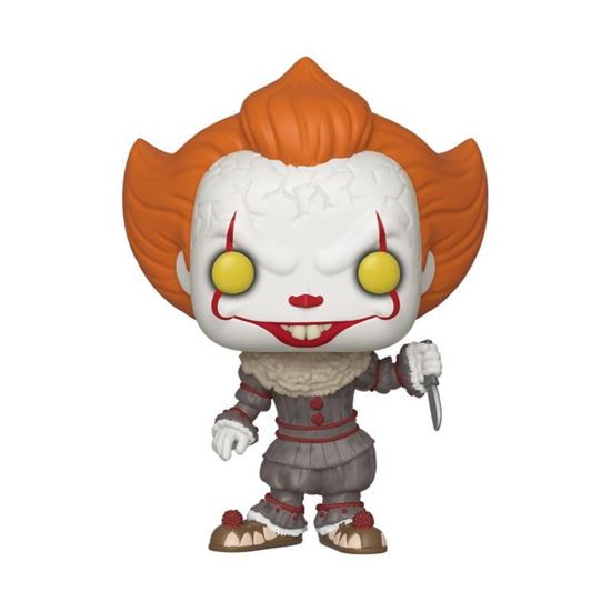 Picture of Stephen King's It 2 POP! Movies Vinyl Figura Pennywise w/ Blade 9 cm.