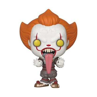 Picture of Stephen King's It 2 POP! Movies Vinyl Figura Pennywise w/ Dog Tongue 9 cm.