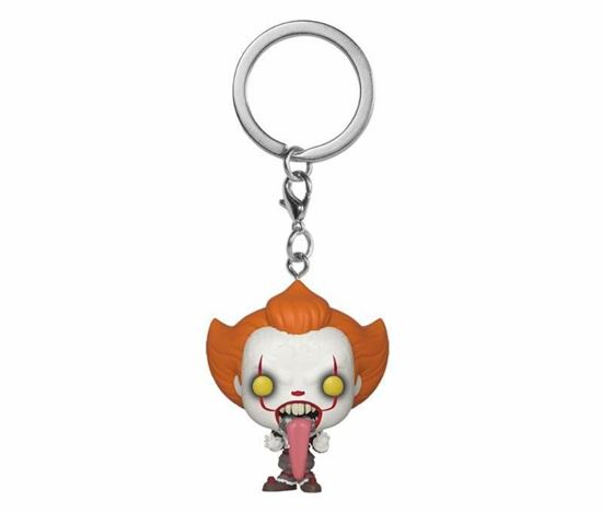 Picture of Stephen King's It 2 Llavero Pocket POP! Vinyl Pennywise w/ Dog Tongue 4 cm.