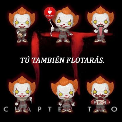 Picture of Stephen King's It 2 POP! Movies Vinyl Figura Pennywise  PACK 6 FIGURAS DISPONIBLE APROX: OCTUBRE 2019