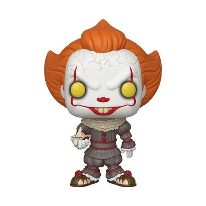 Picture of Stephen King's It 2 Figura Super Sized POP! Vinyl Pennywise w/ Boat 25 cm DISPONIBLE APROX: OCTUBRE 2019