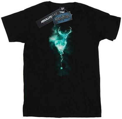 Picture of Camiseta Unisex Patronus Negra Talla L - Harry Potter - DISPONIBLE APROX: SEPTIEMBRE 2019