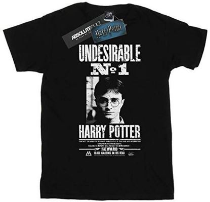 Picture of Camiseta Unisex Undesirable Nº1 Negra Talla M - Harry Potter - DISPONIBLE APROX: SEPTIEMBRE 2019