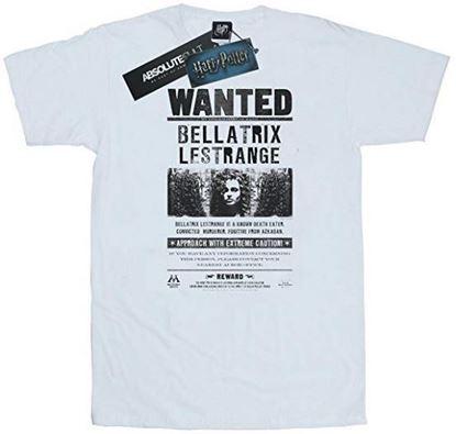 Picture of Camiseta Unisex Bellatrix Blanca Talla L - Harry Potter - DISPONIBLE APROX: SEPTIEMBRE 2019