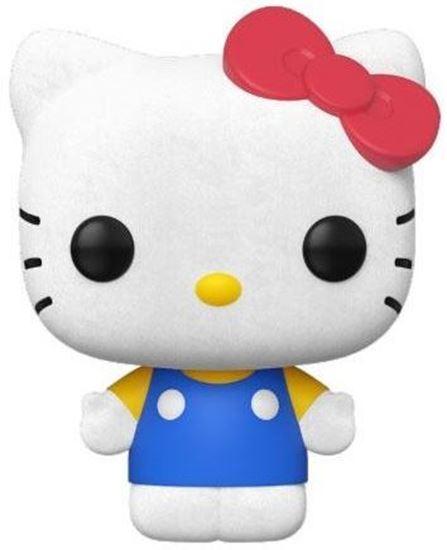 Picture of Hello Kitty Figura POP! Sanrio Vinyl Hello Kitty (Classic Flocked) 9 cm.