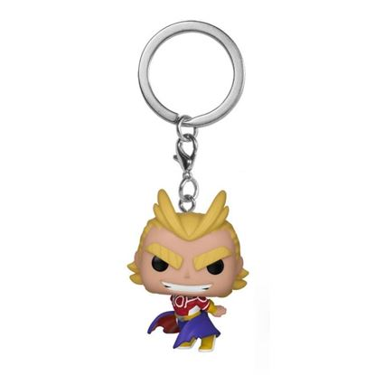 Picture of My Hero Academia Llavero Pocket POP! Vinyl All Might (Silver Age) 4 cm.