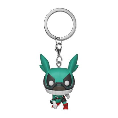 Picture of My Hero Academia Llavero Pocket POP! Vinyl Deku w/Helmet 4 cm.
