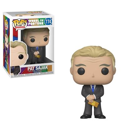 Picture of Wheel of Fortune POP! TV Vinyl Figura Pat Sajak 9 cm