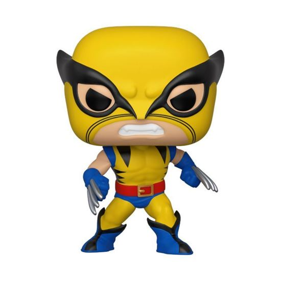 Picture of Marvel 80th POP! Marvel Vinyl Figura Wolverine (First Appearance) 9 cm