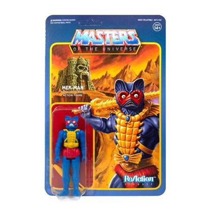 Picture of Masters of the Universe Figura ReAction Mer-Man (Carry Case Color) 10 cm