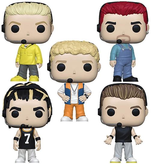 Picture of Pack 5 Figuras Pop! NSYNC 9 cm
